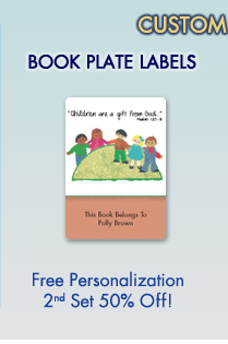 Personalized Book Plate Labels