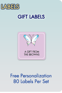 Personalized Gift Labels