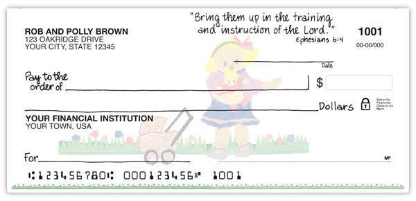Caring For Kids Personal Checks Promise Checks
