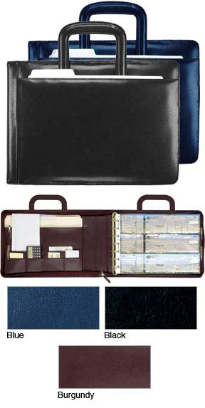 Leather Executive Binder Promise Checks