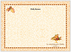 Autumn Blessings Flat Cards
