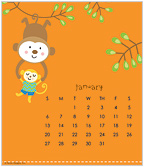 happi by Dena® 2019 CD Desk Calendar