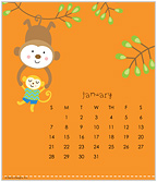 happi by Dena® 2018 CD Desk Calendar
