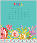 Haute Girls™ 2019 CD Desk Calendar