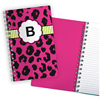 Animal Print Pink Notebook