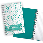 Bubbles Aqua Notebook