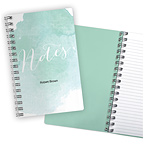 Watercolor Splash Notebook