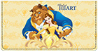Beauty and The Beast Checkbook Cover