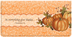 Autumn Blessings Checkbook Cover