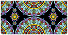 Stained Glass Checkbook Cover