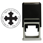 Faith Round Stamp