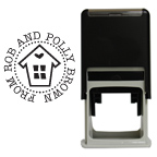 House of Love Round Stamp